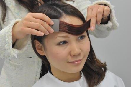パーソナルヘアカラー診断実習