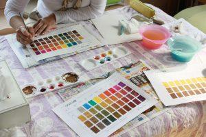 ヘアカラー色彩学講習会